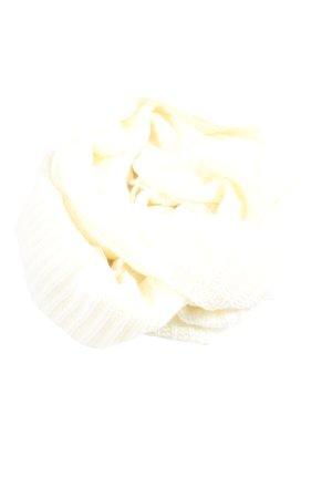 Pieces Scaldacollo bianco punto treccia stile casual