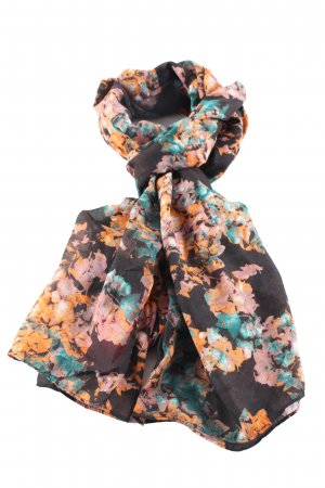 Pieces Tube Scarf flower pattern casual look