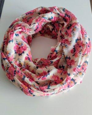Pieces Bufanda tubo rojo frambuesa-rosa