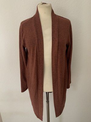Pieces Cardigan brown red