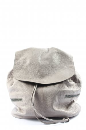 Pieces Mochila escolar gris claro look casual