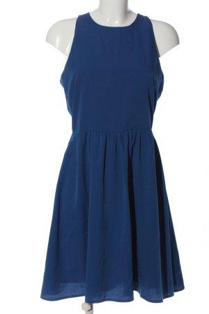 Pieces Cut-Out-Kleid blau Casual-Look