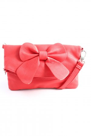 Pieces Schultertasche rot Casual-Look
