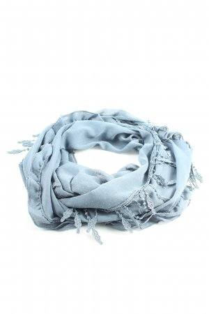 Pieces Shoulder Scarf blue casual look