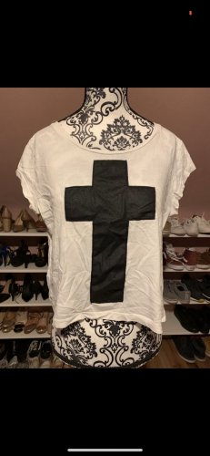 Pieces Shirt Kreuz kurz
