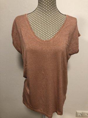 pieces Shirt »PCBILLO« mit gestreiftem Glitzer Effek