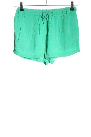 Pieces Shorts grün Casual-Look