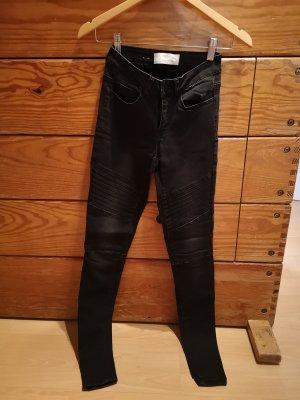 Pieces Skinny High Waist Jeans schwarz 34