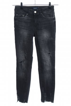 Pieces Skinny Jeans schwarz Casual-Look