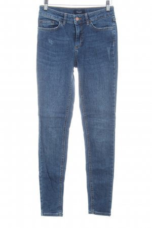Pieces Skinny Jeans dunkelblau Jeans-Optik