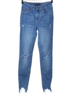 Pieces Skinny Jeans blau Casual-Look