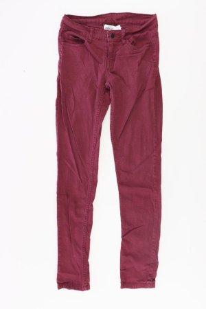 Pieces Skinny Jeans Größe 38 neuwertig rot aus Baumwolle