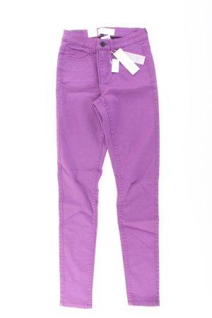 Pieces Skinny Jeans lilac-mauve-purple-dark violet cotton