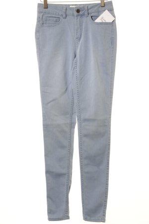 Pieces Skinny Jeans kornblumenblau Jeans-Optik