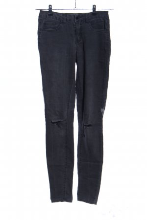 Pieces Skinny Jeans schwarz Casual-Look