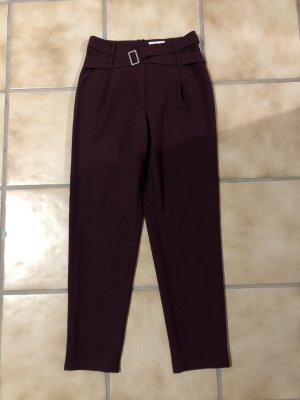 Pieces Pantalone a pieghe multicolore