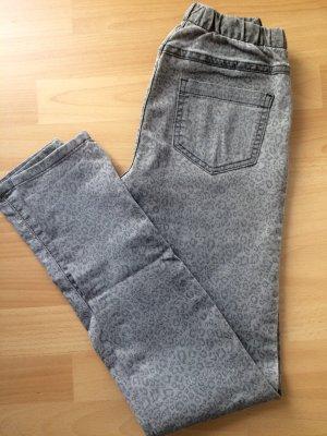 Pieces Slim/Skinny Jeans Jeansleggings * grau LEO XS/S