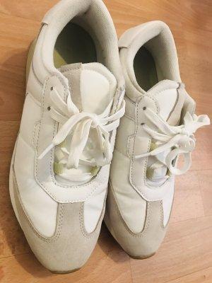 Pieces-Sneaker Low-white