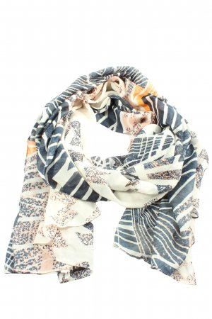 Pieces Summer Scarf abstract pattern casual look