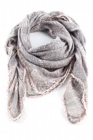 Pieces Summer Scarf light grey-pink allover print casual look