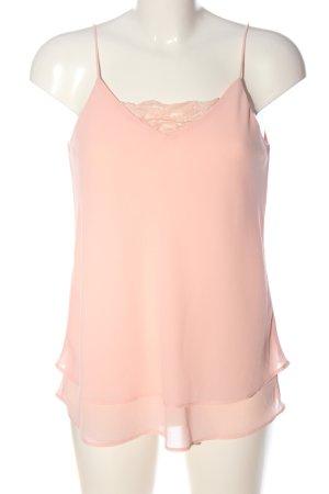 Pieces Top de tirantes finos rosa elegante