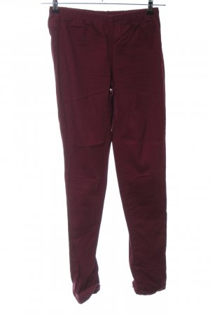 Pieces Stoffhose rot Casual-Look