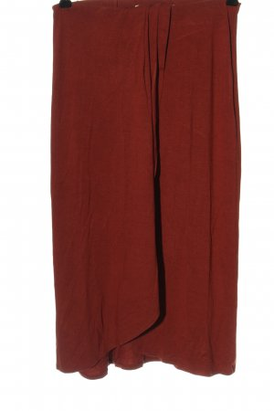 Pieces Jersey Pants red casual look