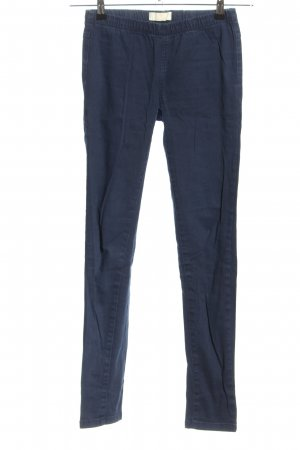 Pieces Jersey Pants blue casual look