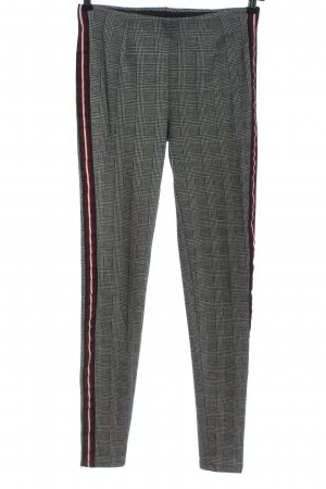 Pieces Stoffhose Allover-Druck Casual-Look