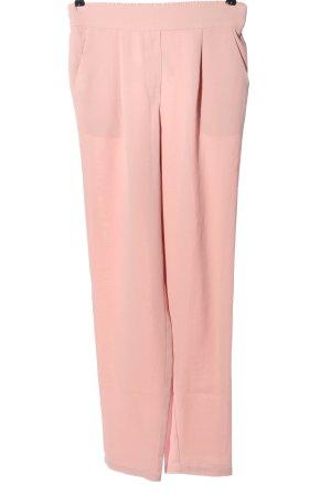 Pieces Pantalone jersey rosa elegante