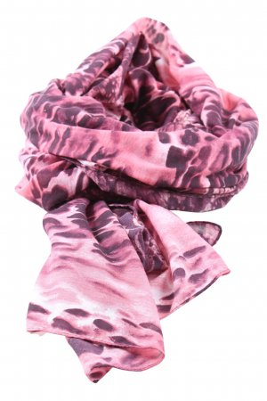 Pieces Chal rosa estampado de animales look casual