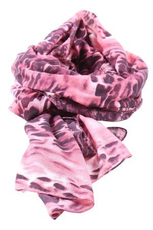 Pieces Étole rose motif animal style décontracté