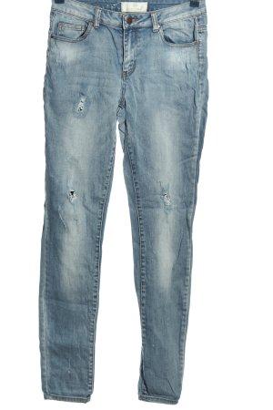 Pieces Straight-Leg Jeans blau Casual-Look