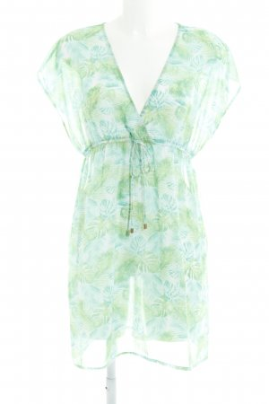 Pieces Vestido playero estampado floral look casual
