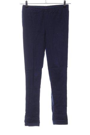 Pieces Stretchhose blau Casual-Look