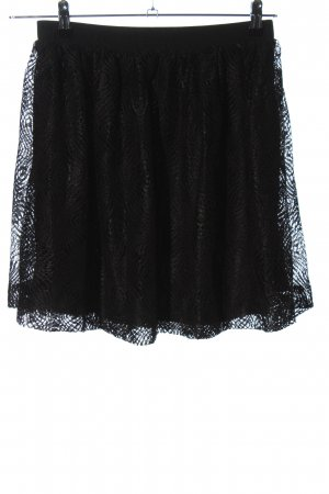Pieces Stretch Skirt black casual look