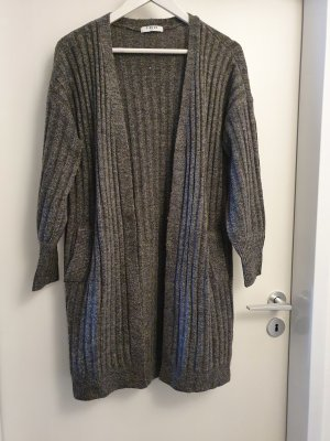 Pieces Knitted Coat dark grey