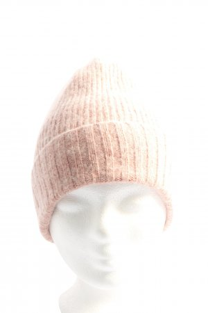 Pieces Knitted Hat nude cable stitch casual look