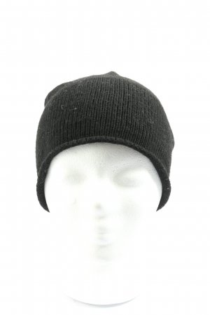 Pieces Cappello a maglia nero stile casual