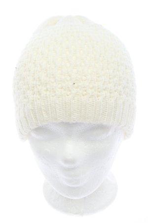 """Pieces Sombrero de punto """"von Micha Ø"""" blanco"""