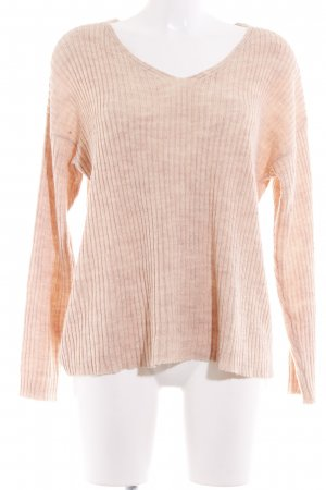 Pieces Strickpullover nude Casual-Look