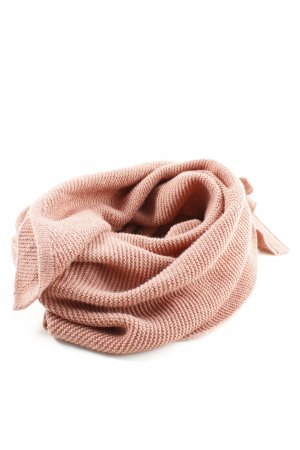 Pieces Écharpe en tricot crème style décontracté