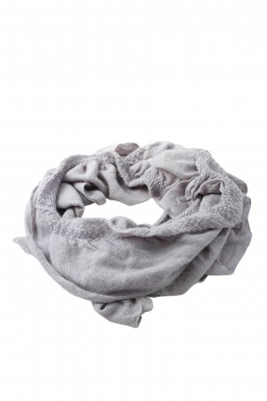 Pieces Knitted Scarf light grey casual look