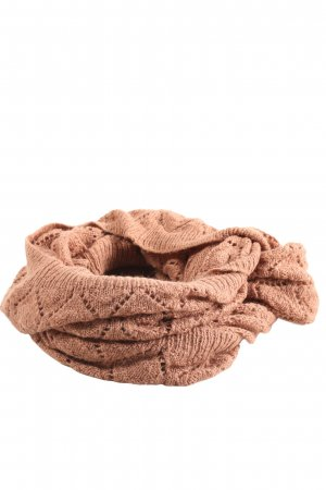 Pieces Knitted Scarf brown casual look