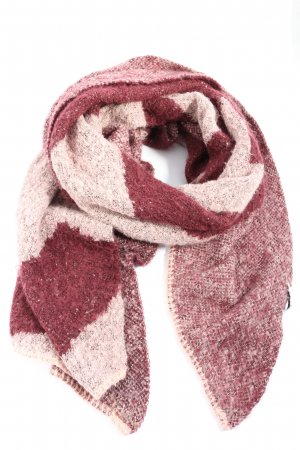 Pieces Strickschal pink-creme Casual-Look