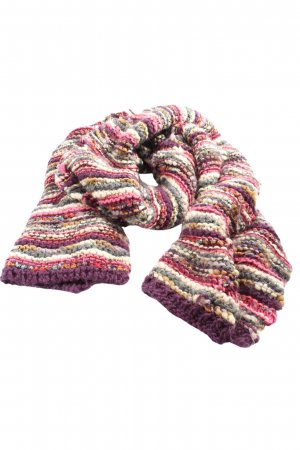 Pieces Knitted Scarf allover print casual look