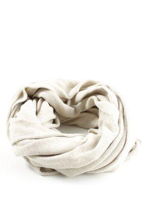 Pieces Écharpe en tricot blanc cassé style décontracté