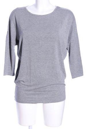 Pieces Camicia maglia grigio chiaro puntinato stile casual