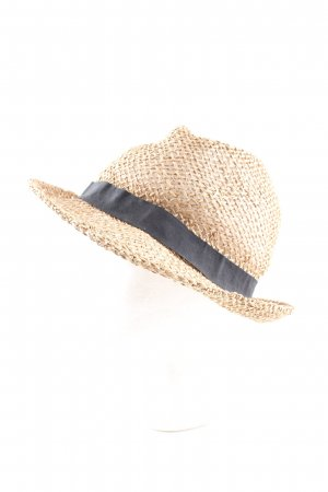 Pieces Straw Hat nude-black classic style