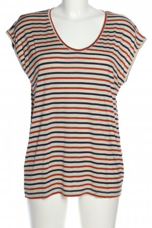 Pieces T-Shirt Streifenmuster Casual-Look